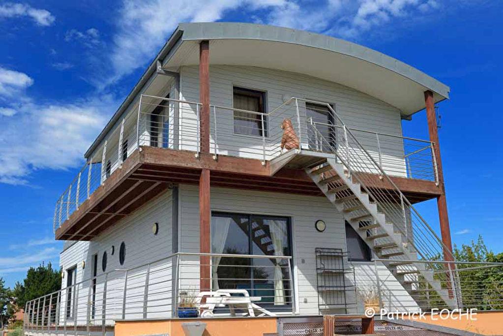 Best maison atypique iletudy with prix maison 120 m2 - Prix gros oeuvre maison ...