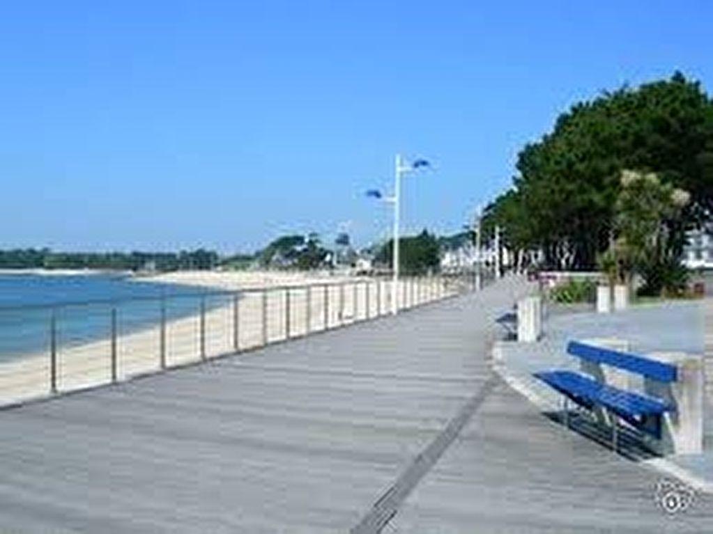 A Bénodet, à 100m de la plage, studio meublé refait à neuf de 24m2.
